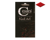Cesars Nail Art Diamond Red