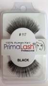 100% Human Hair False Lashes by PrimaLash Professional STYLE 117- Handmade Strip Lashes