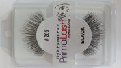 100% Human Hair False Lashes by PrimaLash Professional STYLE 205- Handmade Strip Lashes
