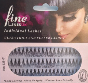 Ultra Thick Knotted Individual Cluster Eyelashes