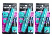 3 x Maybelline Volum Express The Mega Plush Deep Velvets Mascara - Navy Velvet