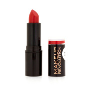 MAKEUP REVOLUTION ATOMIC LIPSTICK - RUBY - RED