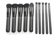 Beau Belle Kabuki Brush Set - 10pcs Professional Make Up Brushes - Make Up Brushes - Makeup Brushes - Kabuki Make Up Brushes - Make Up Brush Set - Makeup Brushes Set - Professional Makeup Brushes + Make Up Brush Case