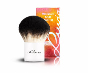Luvia Cosmetics - Le Jour - IV - Mountain Goat Kabuki - Make Up Cosmetic Brush Kabuki in elegant white - Lovingly Handmade - Natural Hair