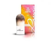 Luvia Cosmetics - Le Jour - I - Tip Hair Kabuki - Make Up Cosmetic Brush Kabuki in elegant white - Lovingly hand-crafted - Vegan