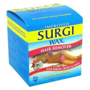 Surgi Wax Bikini-Body-Leg Hair Remover Wax 120ml Jar