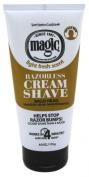 Magic Razorless Cream Shave Light Fresh Scent 180ml Tube