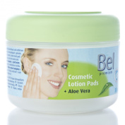 5Pack Bel Cosmetic Lotion Pads with Aloe Vera 5x 30 pieces