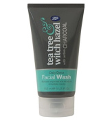 Boots Tea Tree and Witch Hazel Charcoal Facial Face WASH 150ml