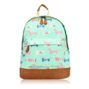 Sausage Dog Print Rucksack Backpack School Bag