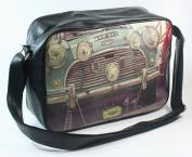 CLASSIC MINI COOPER CAR SPORTS / SCHOOL SHOULDER BAG VINTAGE LOOK