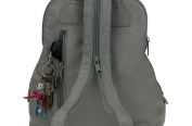 JJ Collection Women's Backpack GREY 26x28x10 cm