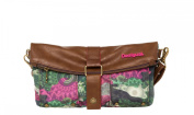 Desigual Women's GALACTIC CAMO Clutch Green Raspberry (Grün) One Size