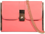 Womens Ladies Girls Faux Patent Prom Party Evening Dressy Occasion Fashion Hand Clutch Bag - D23