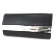 Pouch 'Kika'silver black.