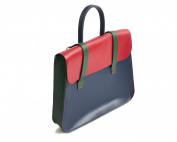 UK Made Real Leather Music or Laptop Case Satchel Messenger Bag