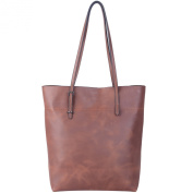 Jack & Chris®Perfect Ladies' Genuine Leather Tote Bag Handbag Shoulder Bag,YSZ112