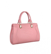 Fisca Women's New Genuine Leather Shoulder-Handle Bag
