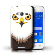 STUFF4 Phone Case / Cover for Samsung Galaxy Ace 4 Lite/G313 / Hawk/Eagle Design / Animal Faces Collection