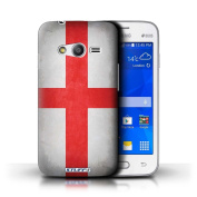 STUFF4 Phone Case / Cover for Samsung Galaxy Ace 4 Lite/G313 / England/English Design / Flags Collection