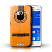STUFF4 Phone Case / Cover for Samsung Galaxy Ace 4 Lite/G313 / Wood/Wooden Acoustic Design / Guitar Collection