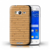 STUFF4 Phone Case / Cover for Samsung Galaxy Ace 4 Lite/G313 / Beige Design / Wooden/Wood Effect Pattern Collection