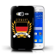 STUFF4 Phone Case / Cover for Samsung Galaxy Ace 4 Lite/G313 / Germany/German Design / Football Emblem Collection