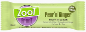 Zoot Froot Pear 'n' Ginger Bar 35g