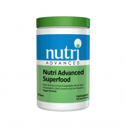 Nutri Advanced Superfood - 302.7g - Reds & Greens Fruits & Vegetables Blend with Antioxidants, Fibre, Enzymes & Live Bacteria