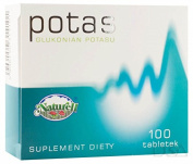 Pottasium 80 mg - 100 tablets - helps in the proper functioning of the nervous system and muscles and helps to maintain normal blood pressure.
