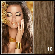 Athenia® 60cm inch Clip in Futura Hair Extensions - Six Piece Full Head set - ** 150 grammes of hair per pack ** - Heat Style up to a Massive 200 Degrees - Superior Salon Quality - Natural Look & Feel - Colour #10 - Medium Ash Brown