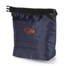 Sonline Thermal Cooler Insulated Portable Waterproof Lunch Box Storage Picnic Bag Pouch - Navy blue