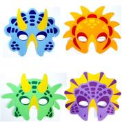 12 X Foam Dinosaur Masks