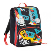 Doubling backpack - SEVEN TAPE - Black - Expandable 28 litres school student