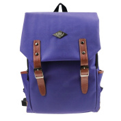 BAO CORE Boys Grils British College Shoulder School Backpack Bags Retro Travel Daypack Rucksuck Schoolbags for Middle High School Teenage Boy Girls Students 39 X 30 CM-Purple