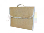 Yellowboots Jute Hessian School / Book / Document Bag