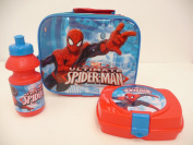 Children's Spiderman 3 piece Lunch Box Set