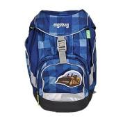 Ergobag School Backpack 5 - Pc. Set 40 Cm, karo/blau 2013