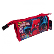 Spiderman Toiletry Bag, 22 cm, Red