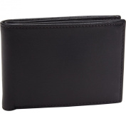 Bosca Nappa Leather Small Bifold Wallet