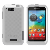 OtterBox Commuter Series Case for Motorola Photon Q - Retail Packaging - White