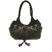 Piel Leather Braided Hobo