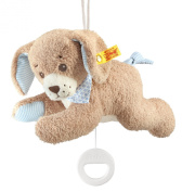 Steiff 22cm Good Night Dog Music Box