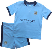 Brecrest Fashion Baby-Boys Manchester City Football Club MC303 Clothing Set