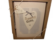 East of India - Baby Girl boxed photo album