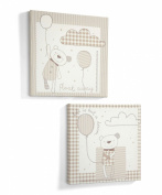 Mamas & Papas - Night Time Hugs - Canvas Pictures