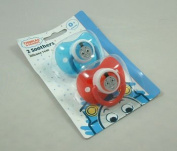 THOMAS THE TANK ENGINE SOOTHERS 2PK