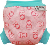 Close Parent Swim Nappy, Medium 5.9-9.1kg, Russian Dolls