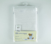 Chicco Next 2 Me Cellular Blanket by BabySecurity - White