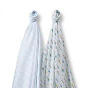 SwaddleDesigns SwaddleDuo, Cute & Calm Duo